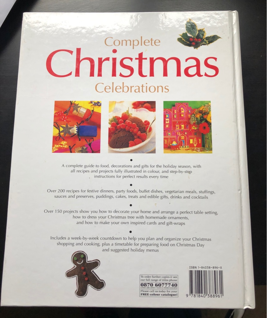 COMPLETE CHRISTMAS CELEBRATIONS BOOK