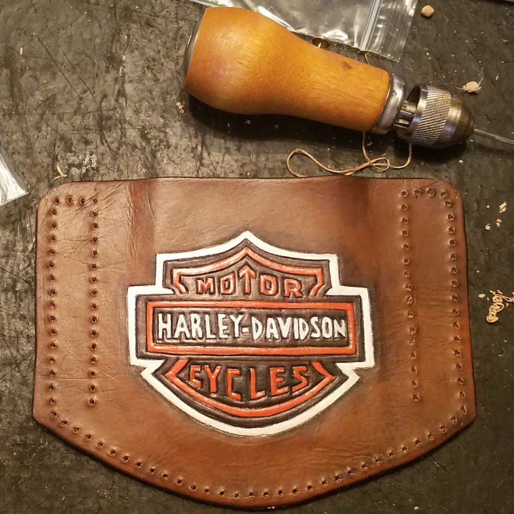 Custom leather cell case