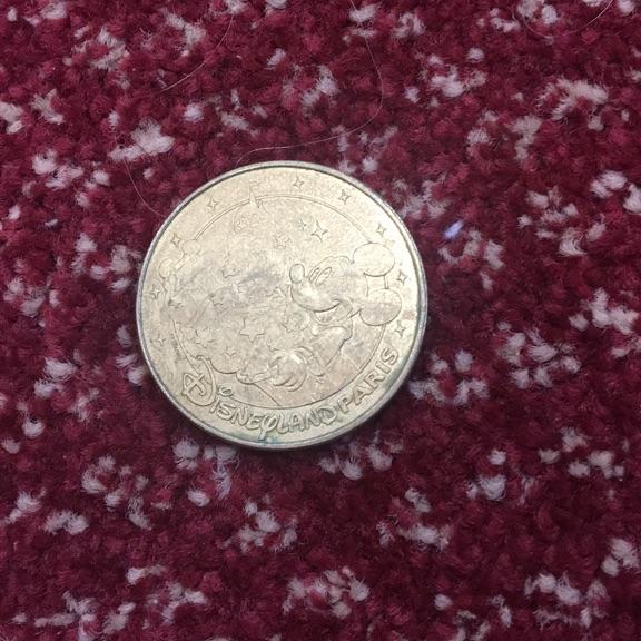 Disney land Paris coin