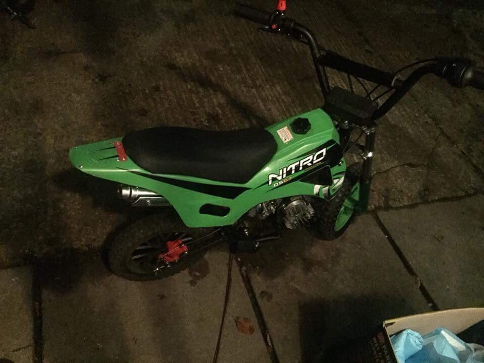 50 cc mini dirt bike