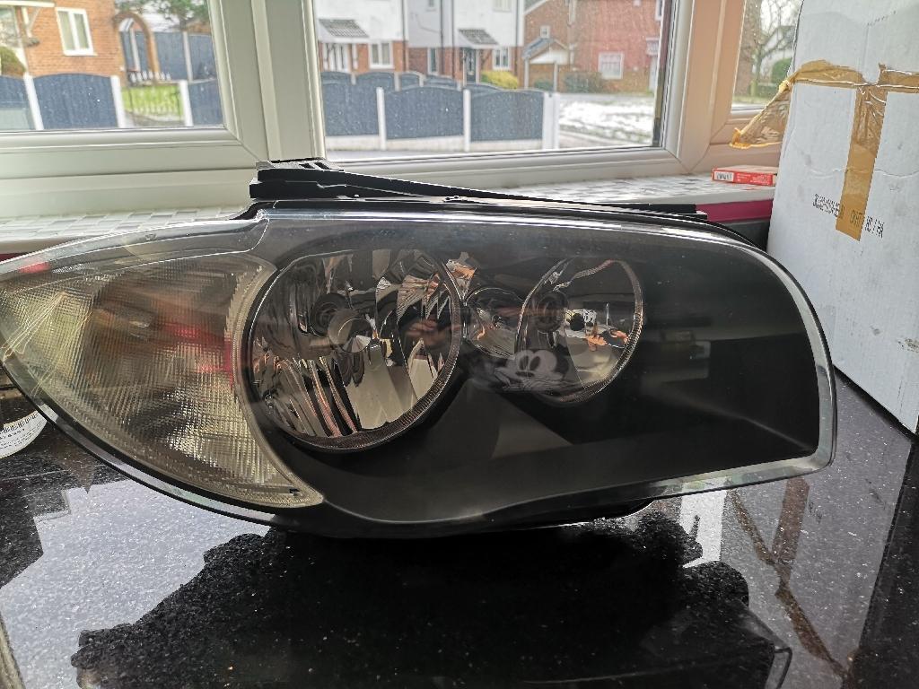 BMW right side headlight unit