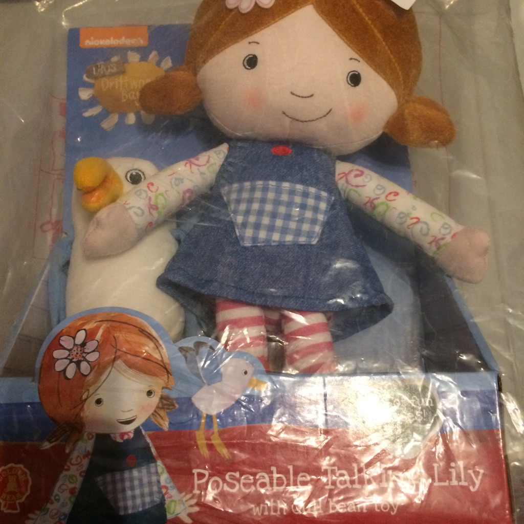 Lily poseable doll
