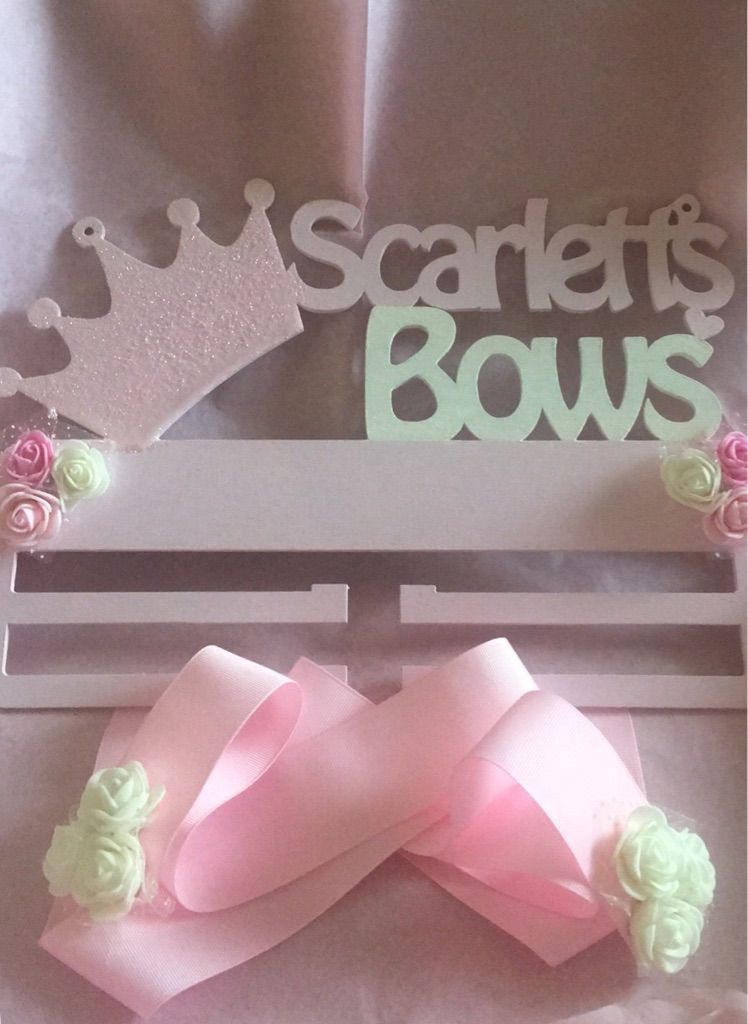Personlised bow holders