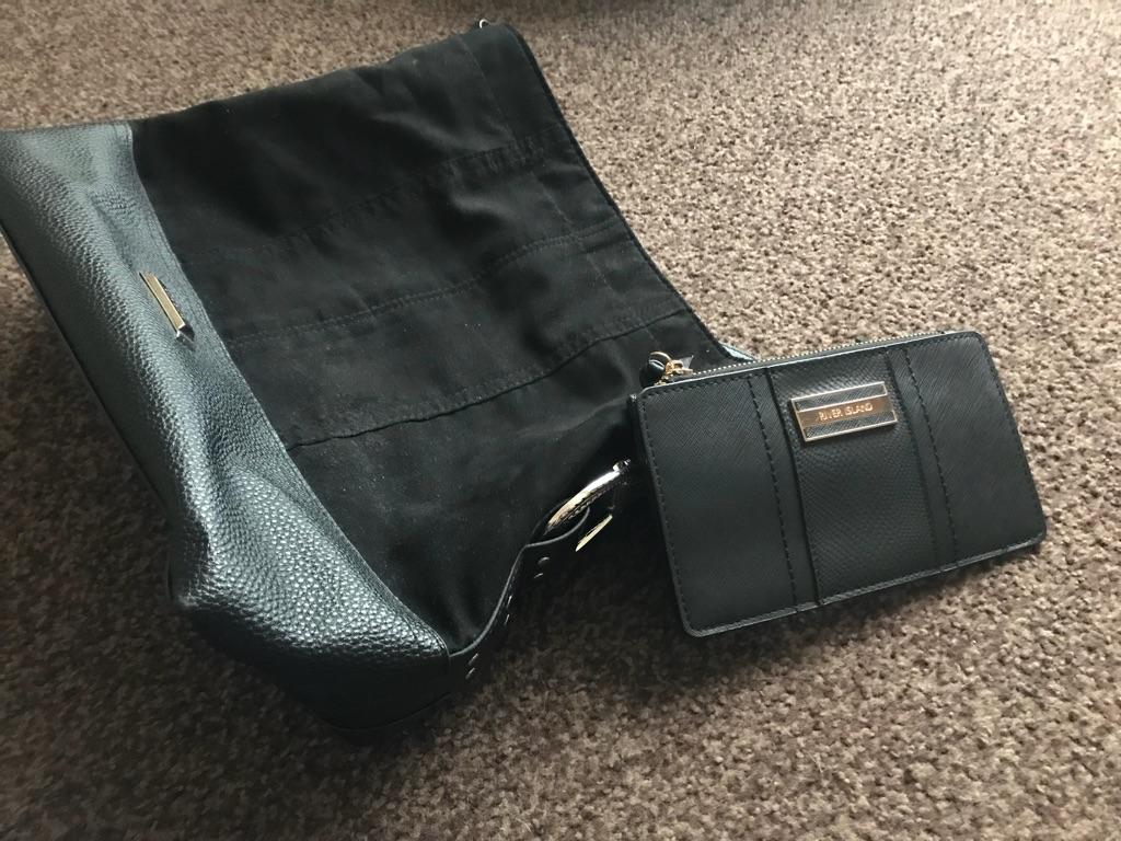 Black River Island handbag and purse
