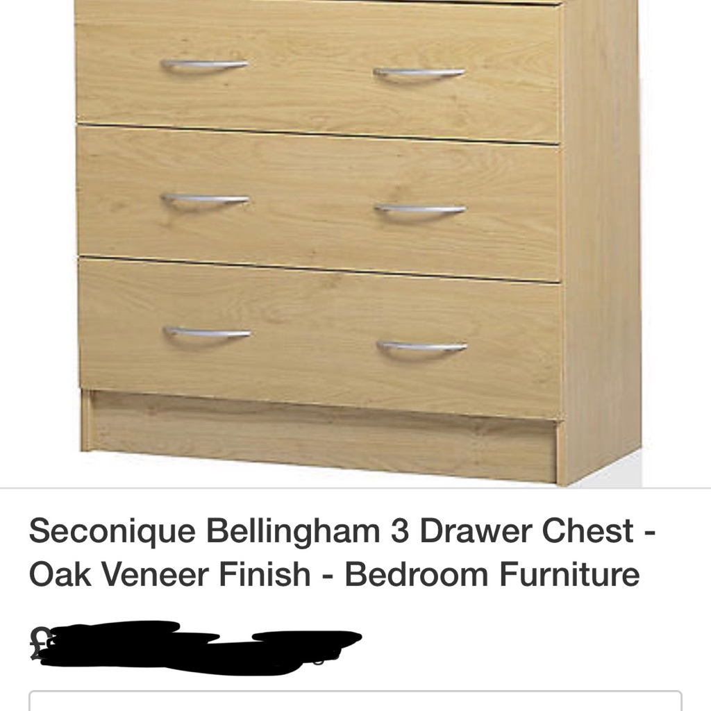 Bellingham 3 drawer chest