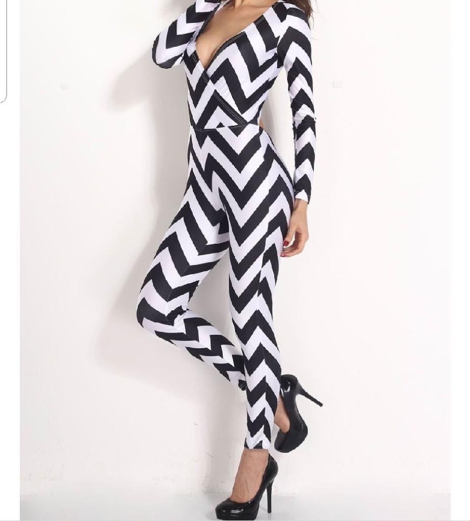 Black & White Jumpsuit