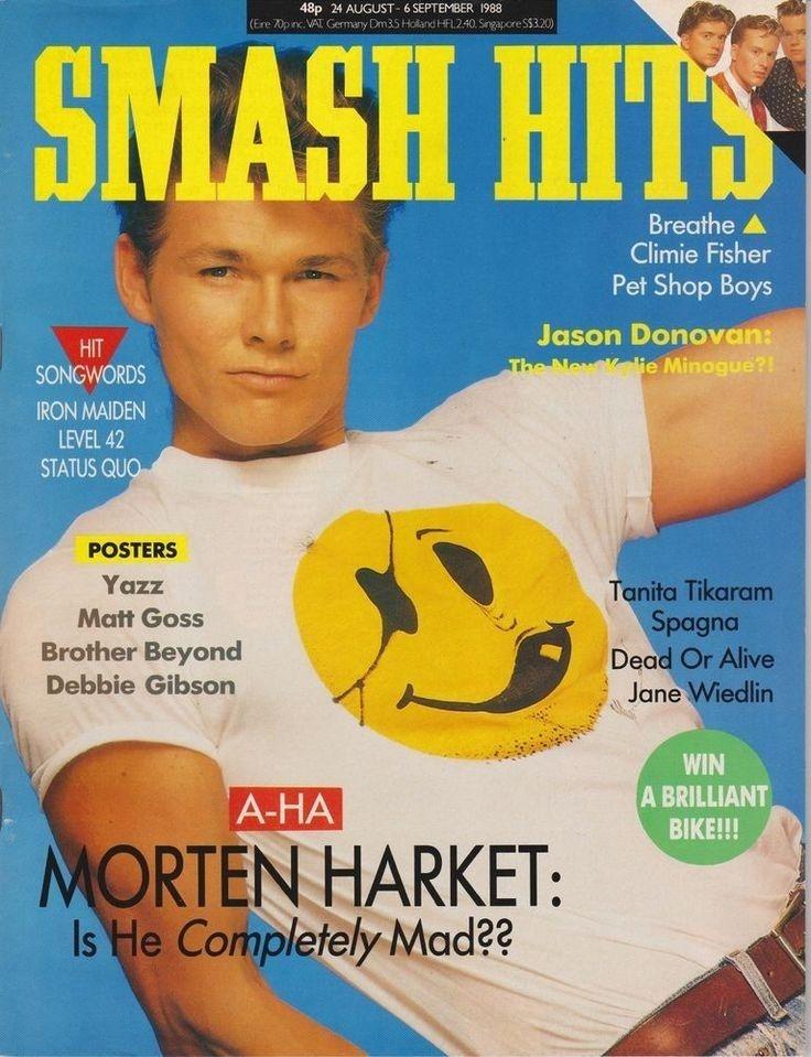 Loads of smash hits magazine's
