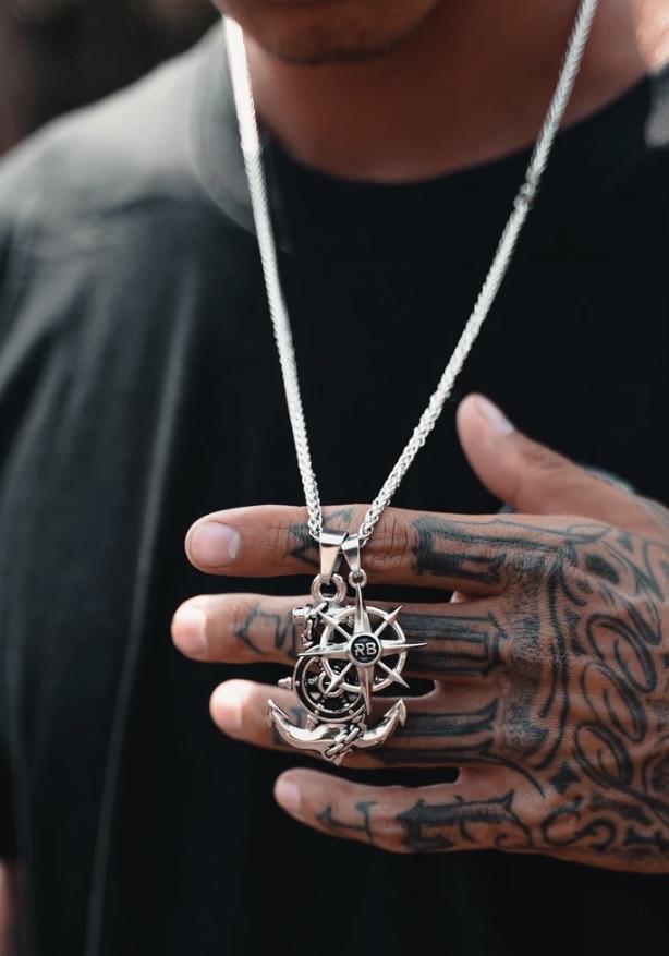 Men's jewellery 20% off using my code below ⬇️