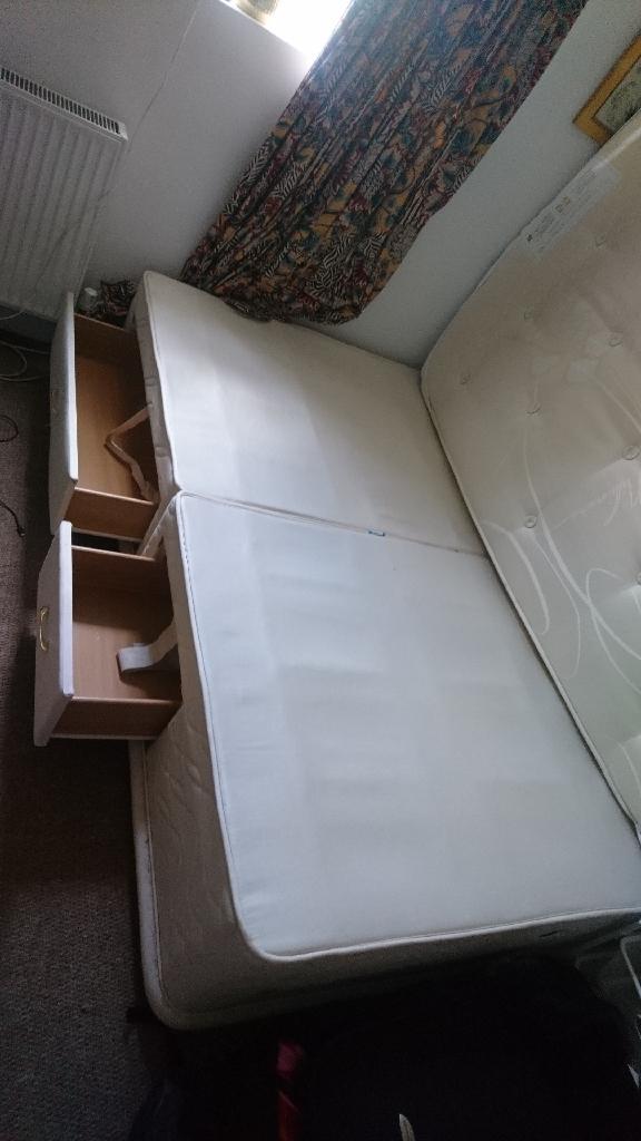 FREE! MUST GO! King size divan bed frame base