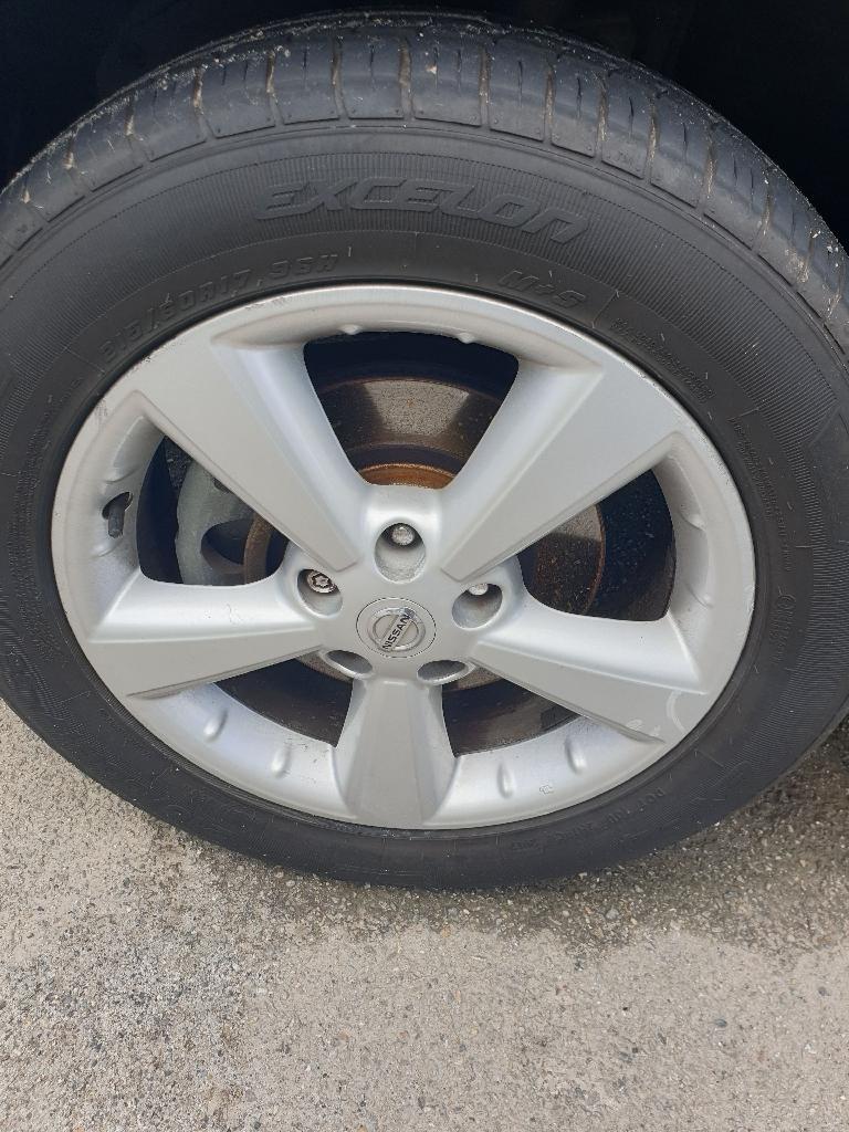 Nissan qashqai alloy wheels x4