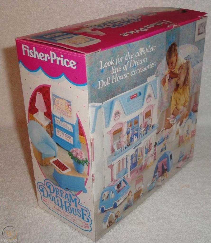 Fisherprice dolls house