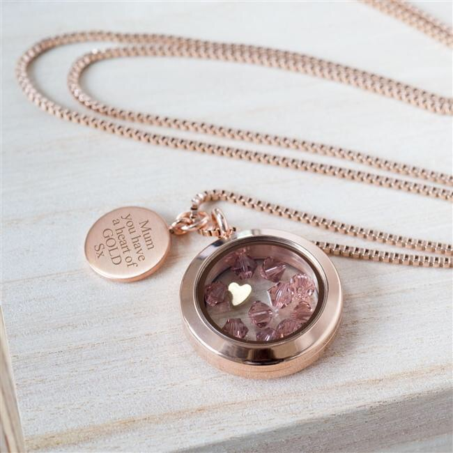 Heart of Gold' Necklace