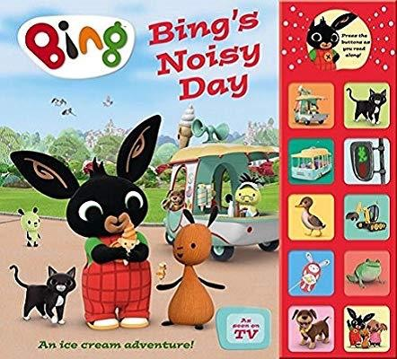 Bingo's noisy day: interactive sound book