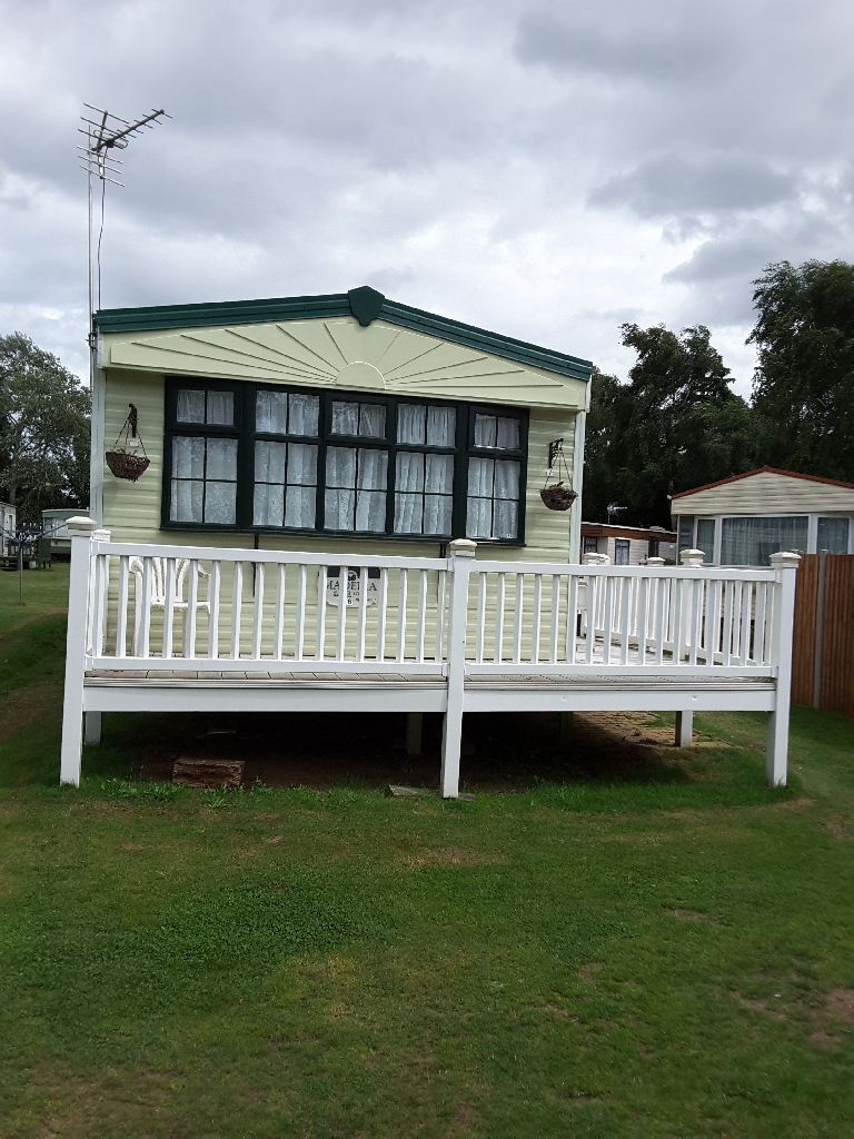 2 bed sited static caravan