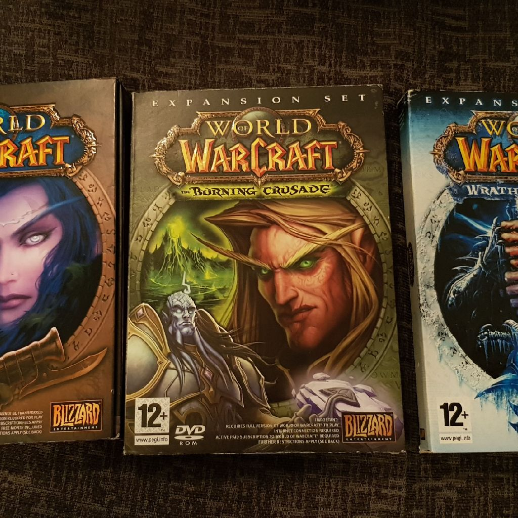 world of warcraft pc games