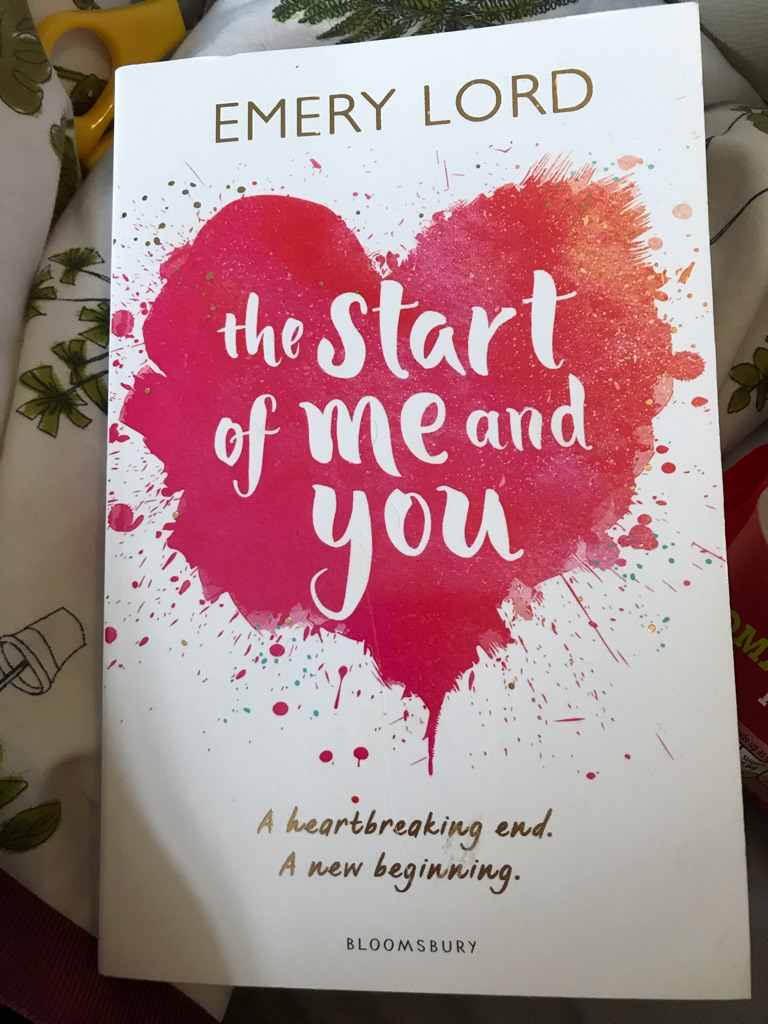 The Start is me and you- Emery Lord book