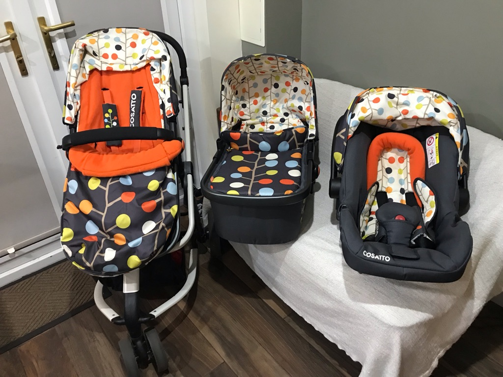 Cosatto 3n1 Compact Travel System
