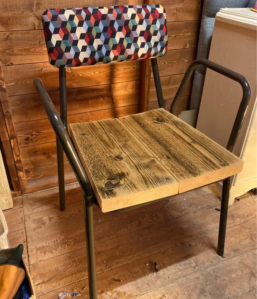 Modern chair (One of a Kind-Handmade)