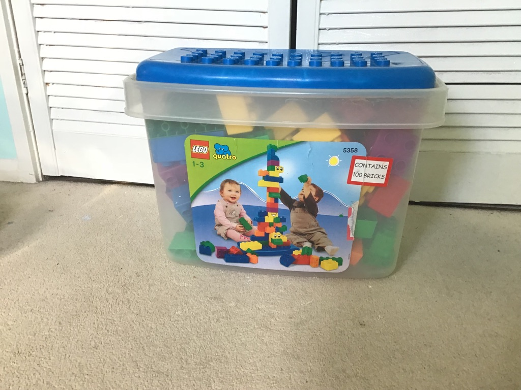 Large Lego for toddlers 1-3 early learning center