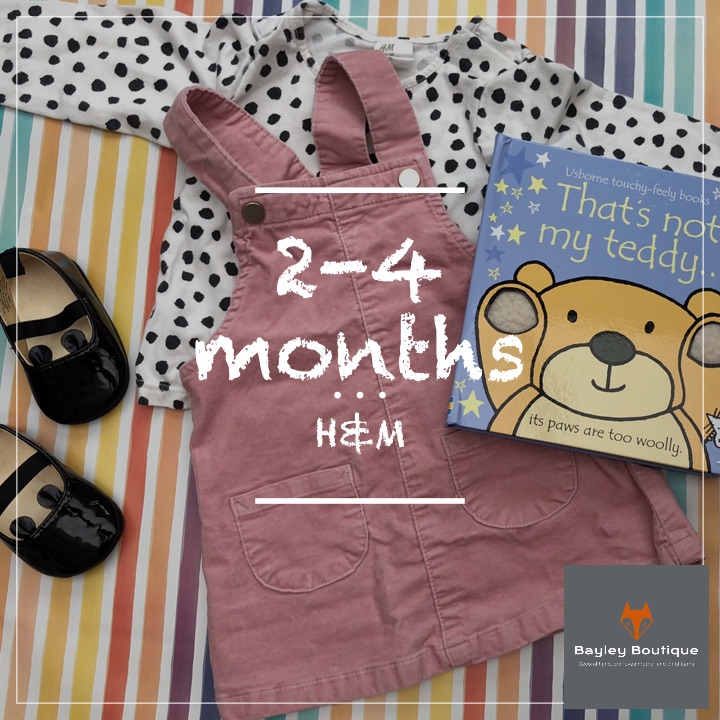 Baby girl 2-4 months H&M