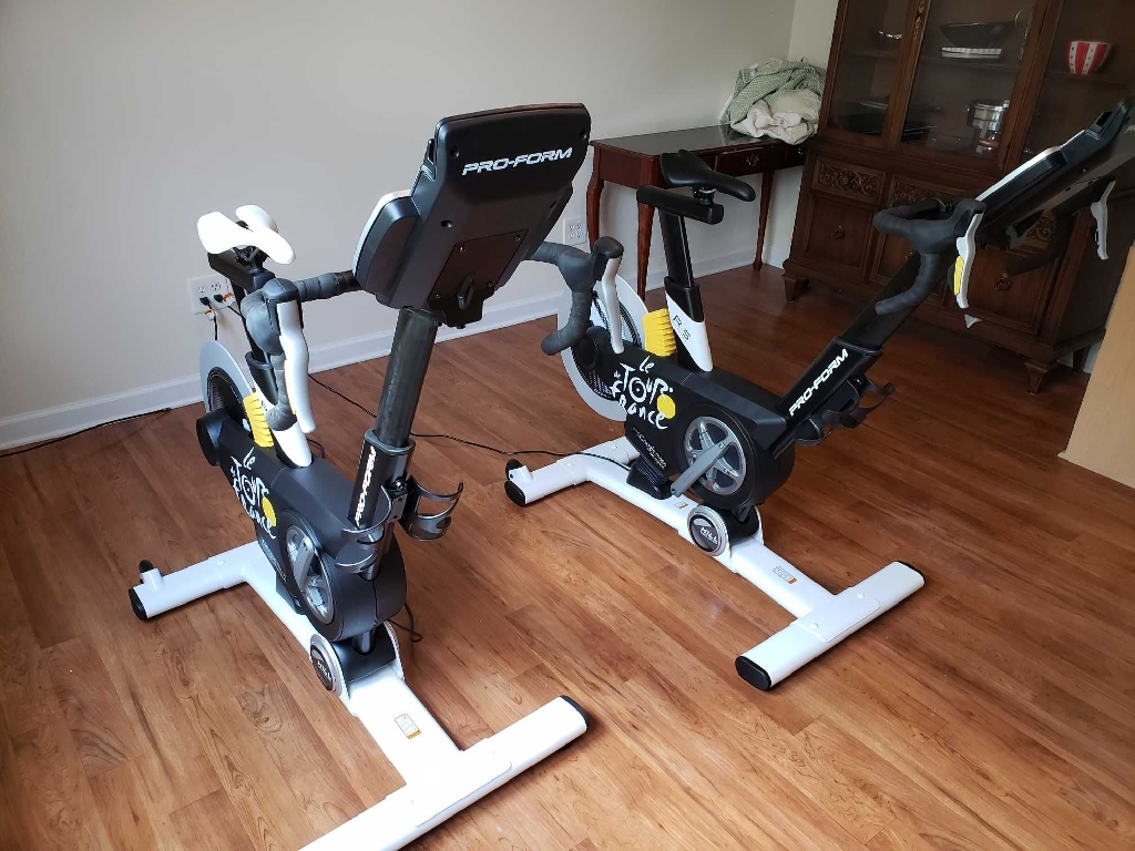 Le tour de France exercise bikes