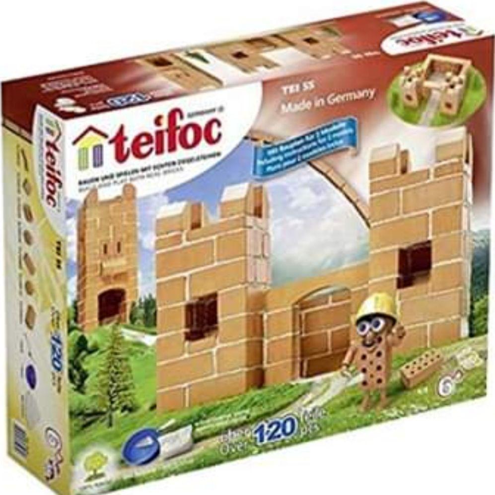 Teifoc build your own castle construction kit kids toy