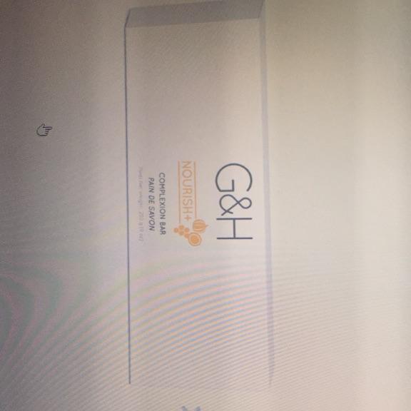 Skin complexion bar soap G&H Nourish+TM