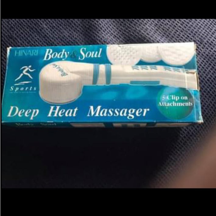 Deep heat massager