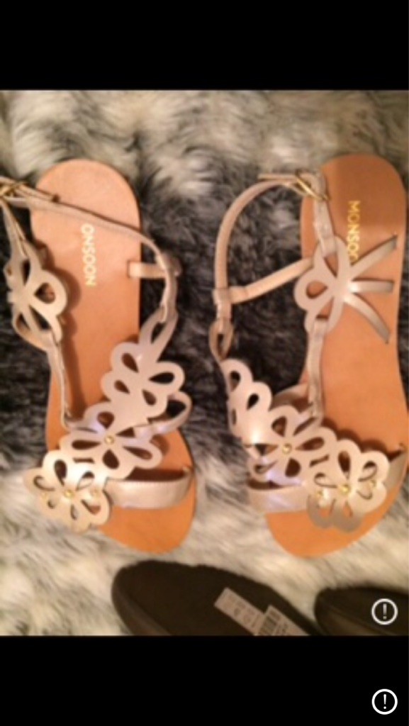 Monsoon sandals brand new size 5 £15