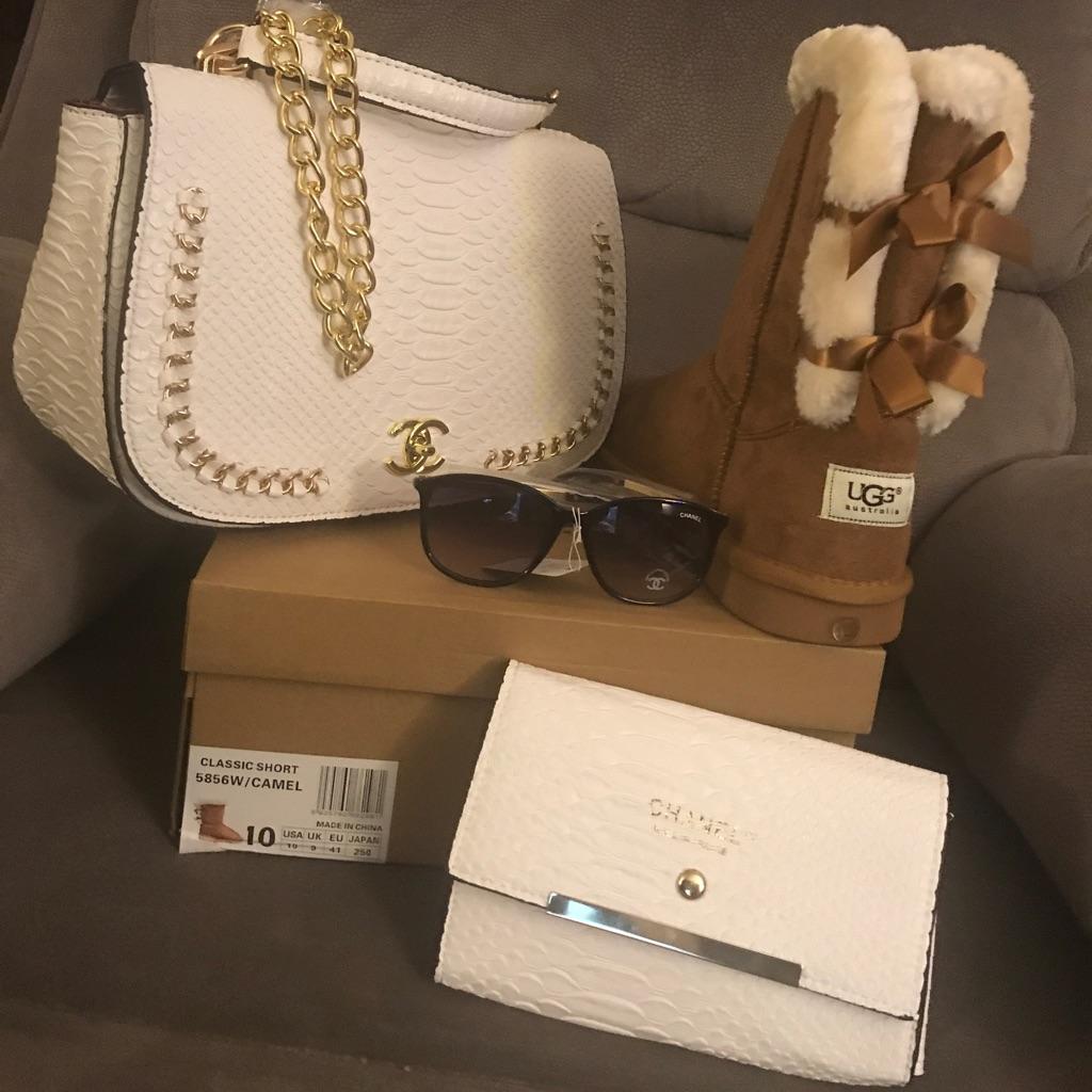 Ugg & Chanel set