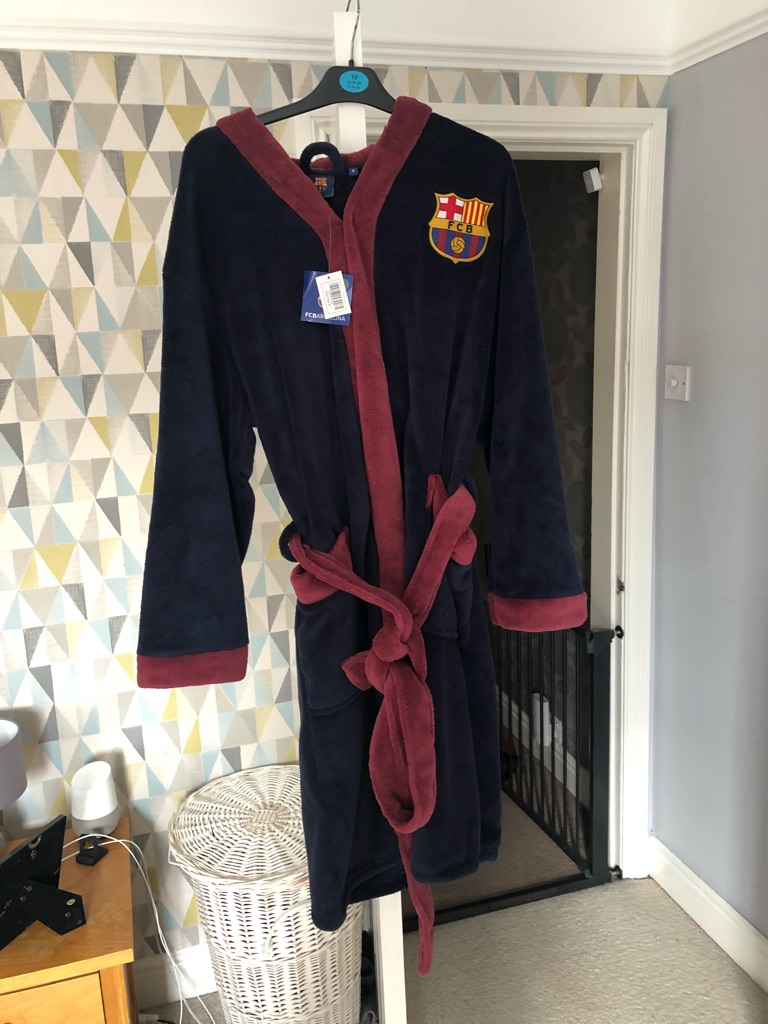 Brand new Barcelona dressing gown
