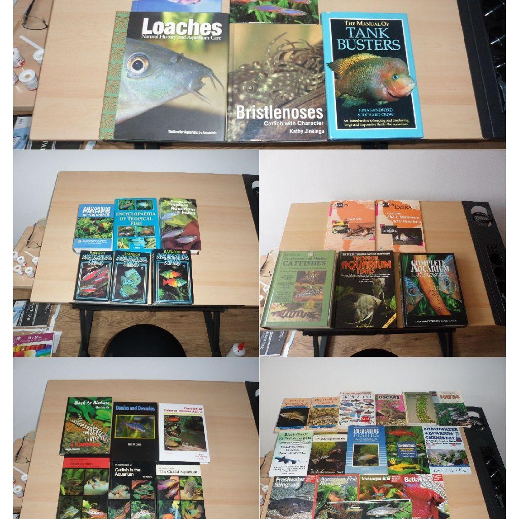 Tropical aquarium freshwater books