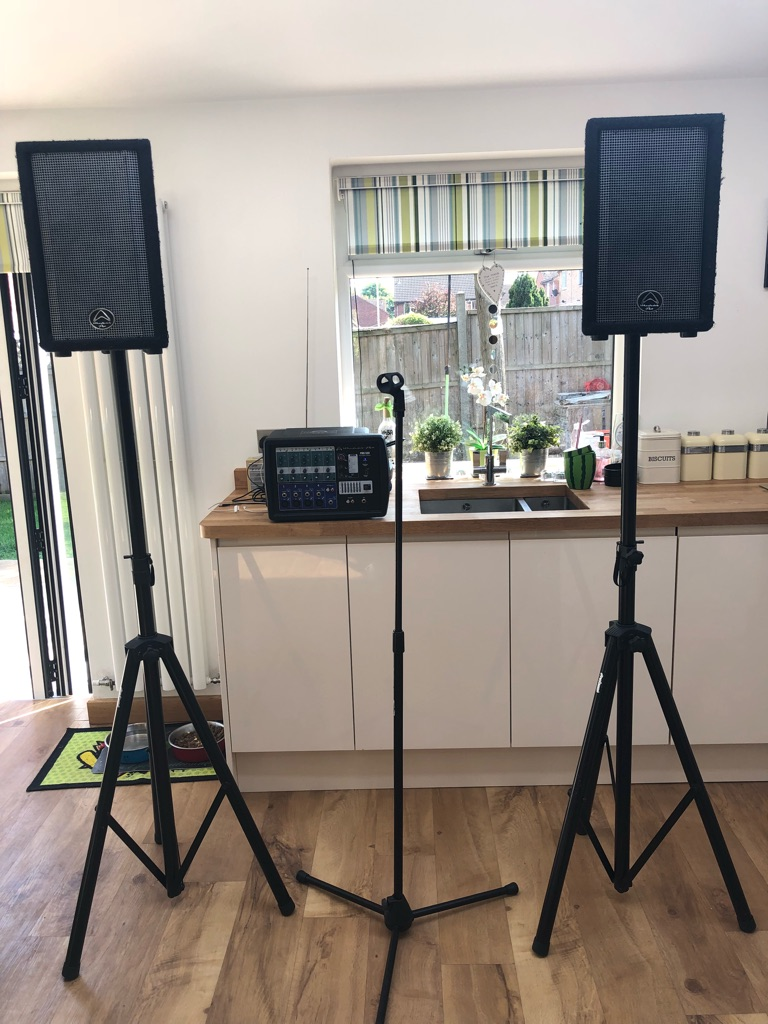 Wharfedale pro PA System