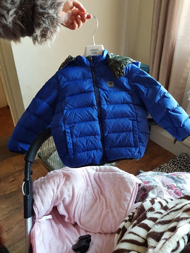 Armani boys coat