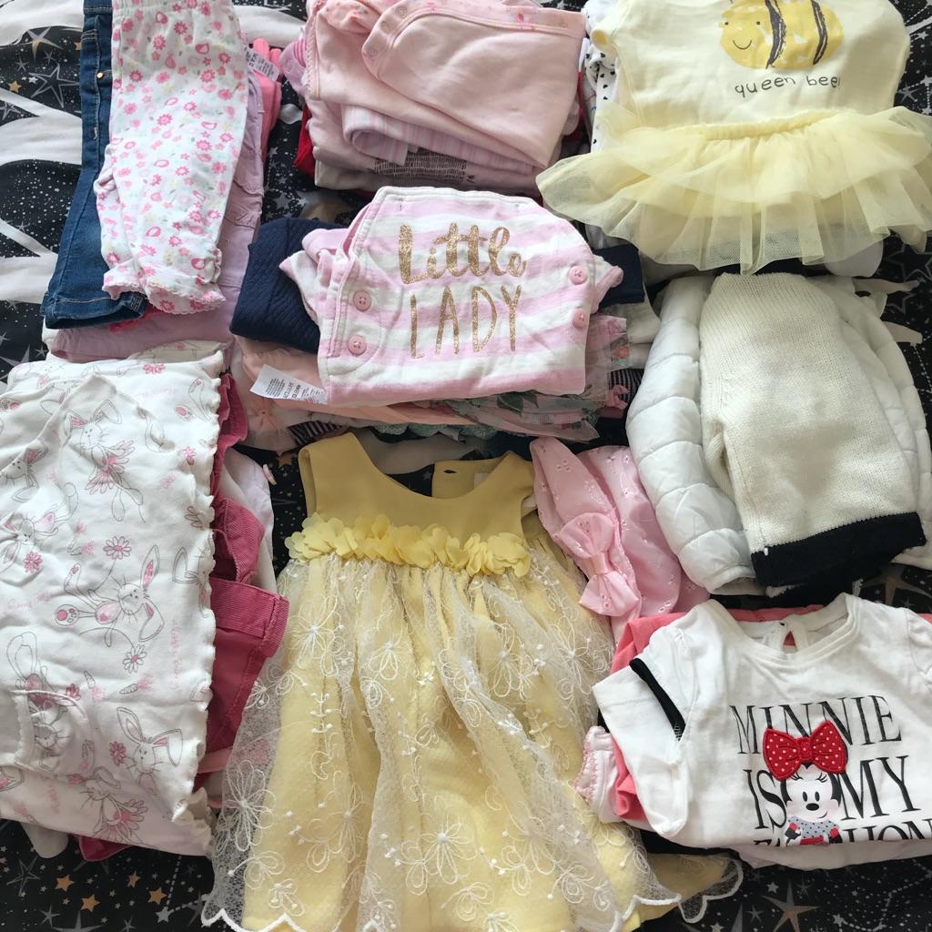 7fd45836e364 Baby girls clothes bundle