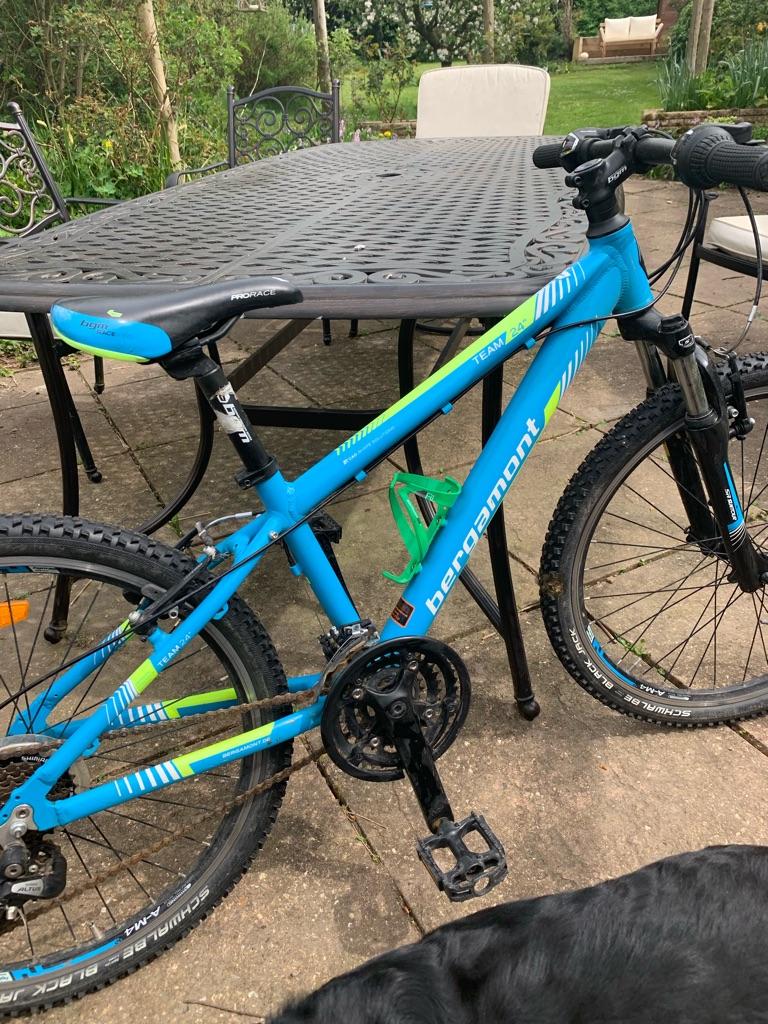 Kids 24 hardtail mountain bike Bergamont