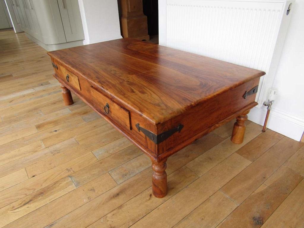 John Lewis Maharani Coffee Table with 4 drawers