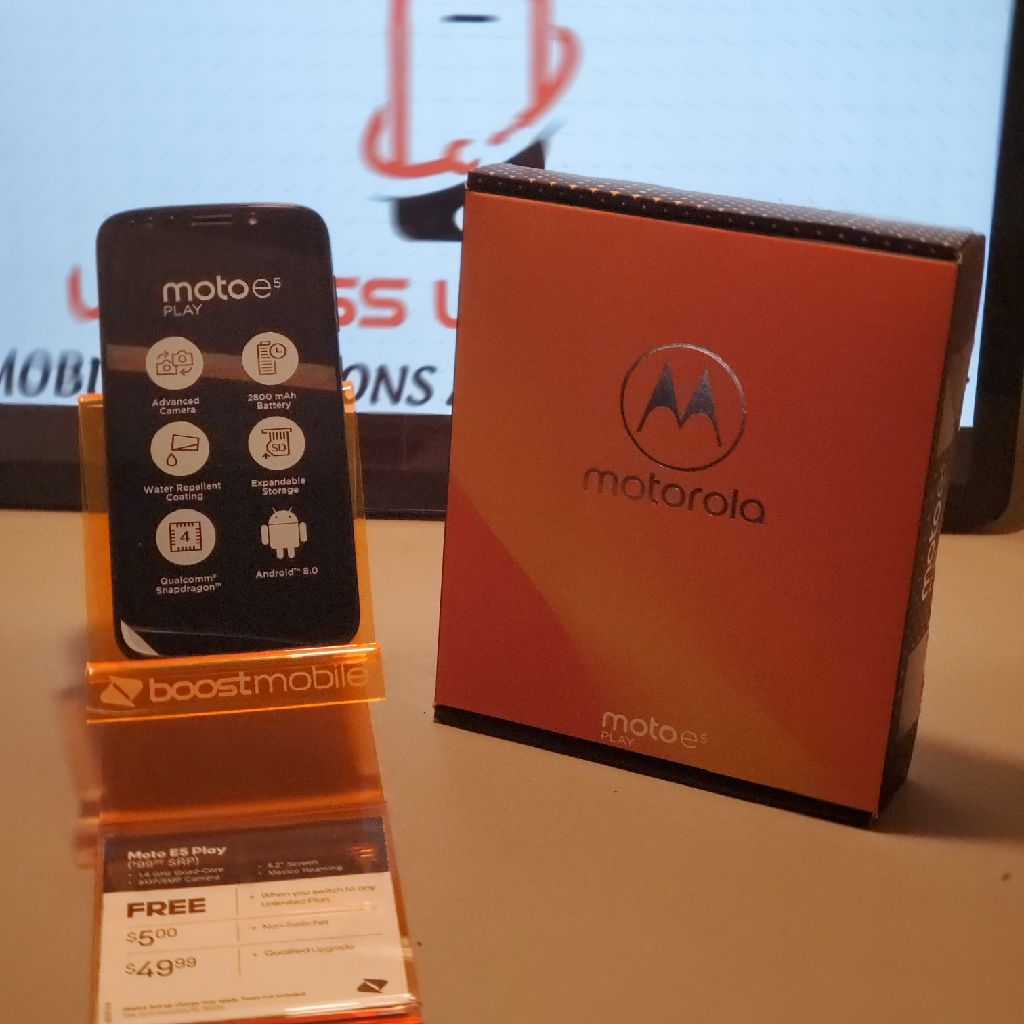 Motorola E5 Play (Boost Mobile)