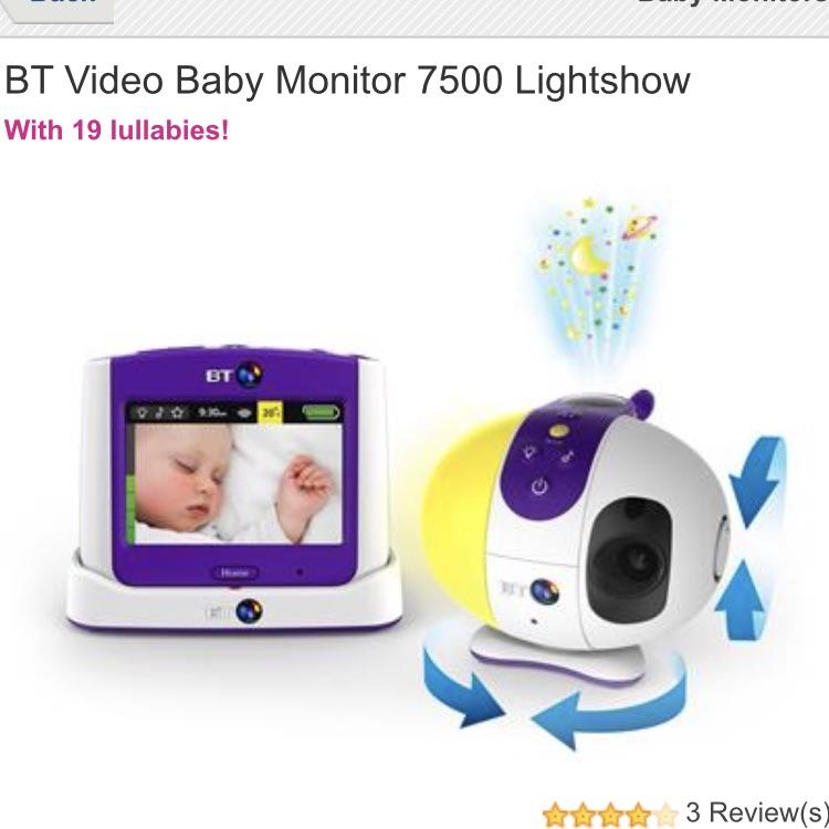 Bt 7500 baby monitor