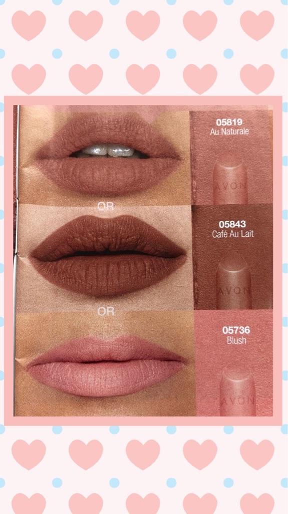 BRAND NEW SEALED SAMPLE OF AVON TRUE COLOUR PERFECTLY MATTE LIPSTICK-AU NATURALE-PURSE-TRAVEL-HOLIDAY