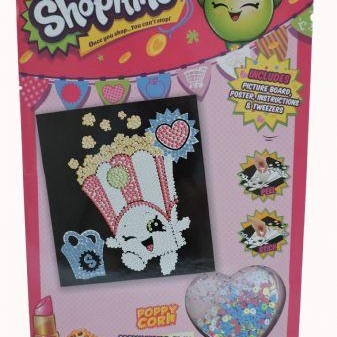 Shopkins make your own sequin picture