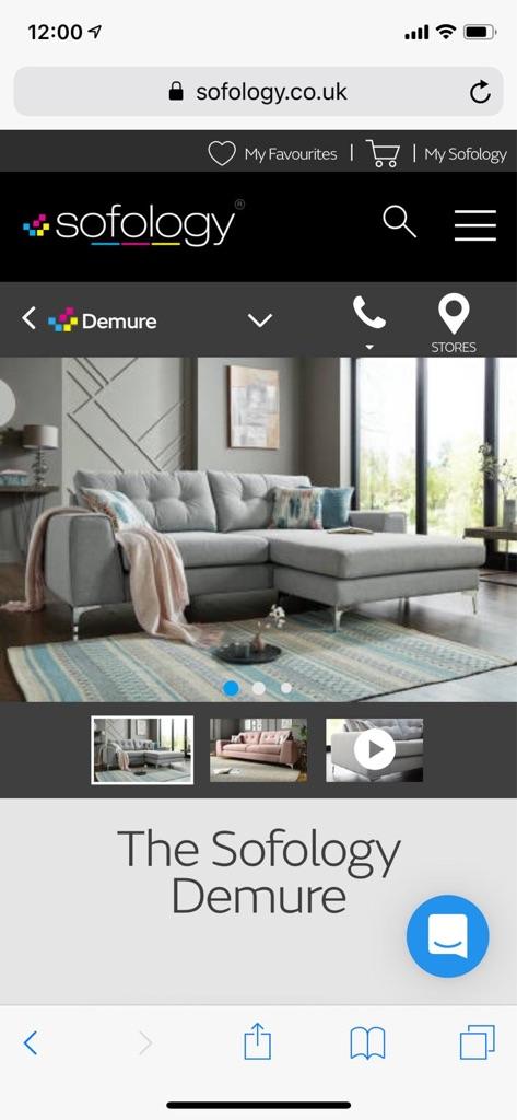 Sofology 3-man sofa