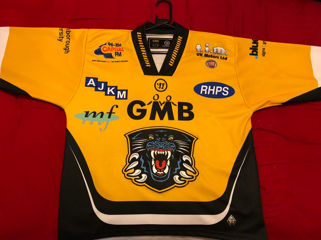 Nottingham Panthers ice hockey jersey (2016/17)