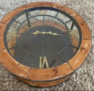 Denton Clock Coffee Table