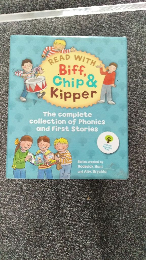 Biff chip and kipper complete reading set
