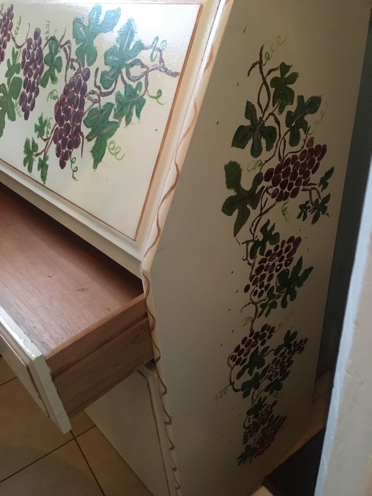 Hand painted bureau