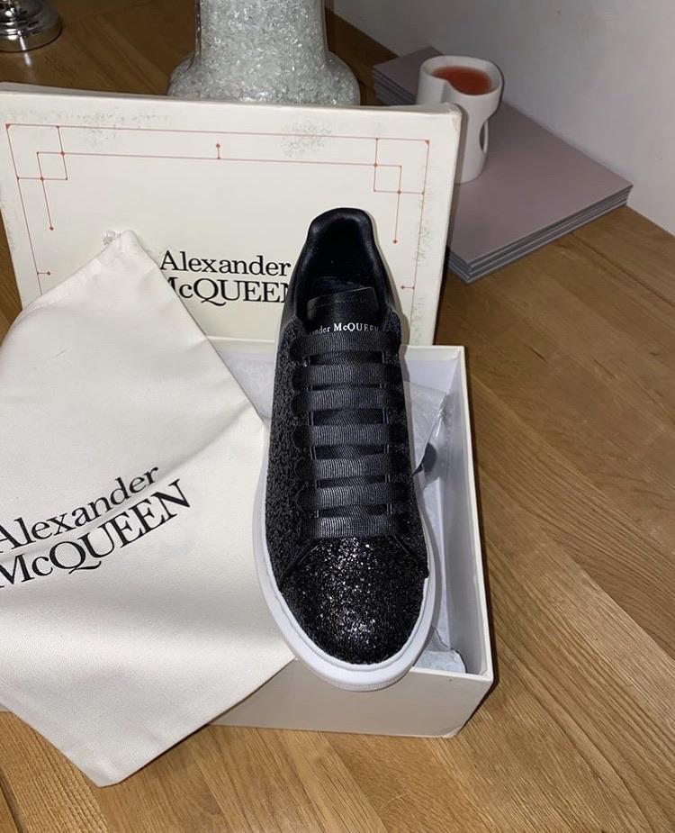 Alexander McQueen Trainers Black Various Sizes New