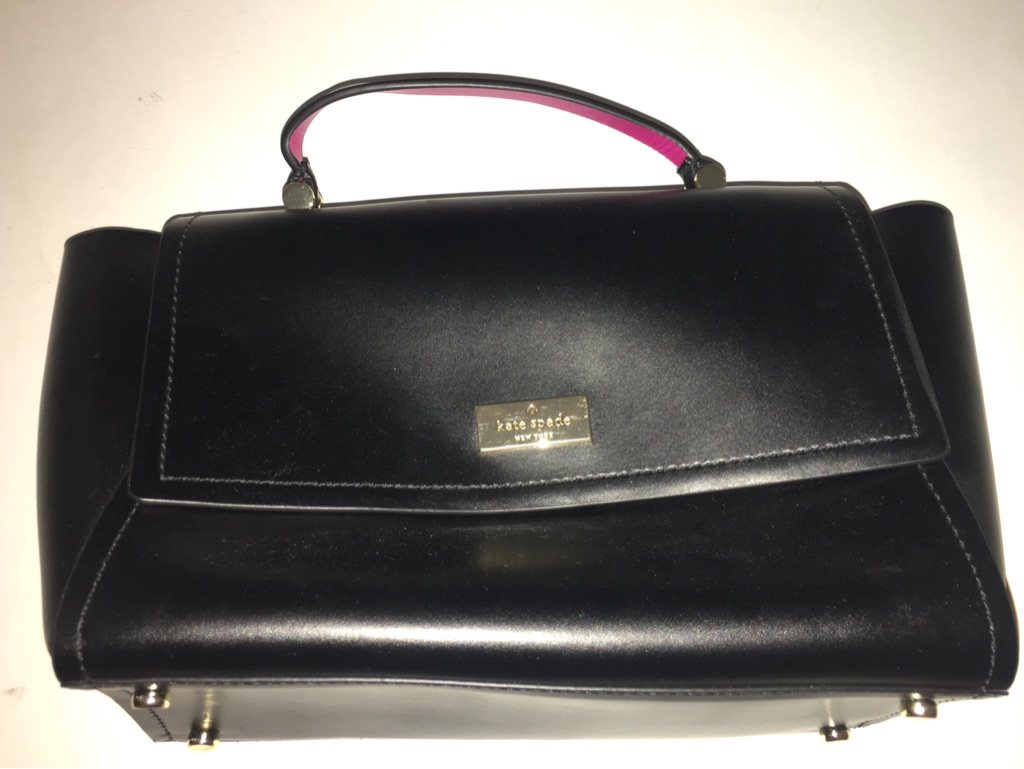 Kate Spade Lilah Black Leather Shoulder Bag