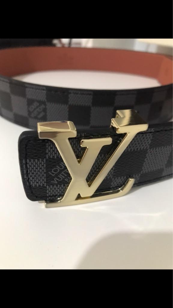 LV Gold Belt