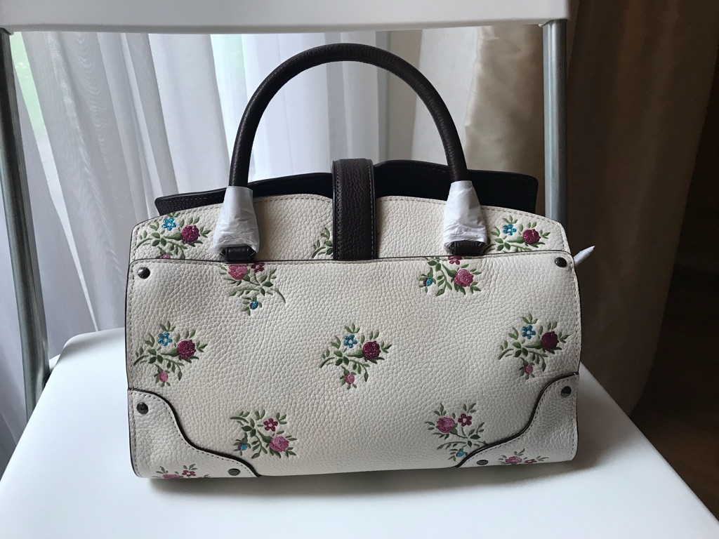 Coach mini handbag mercer floral